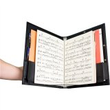Deluxe Choral Folder with String Dividers & Adjustable Hand Strap