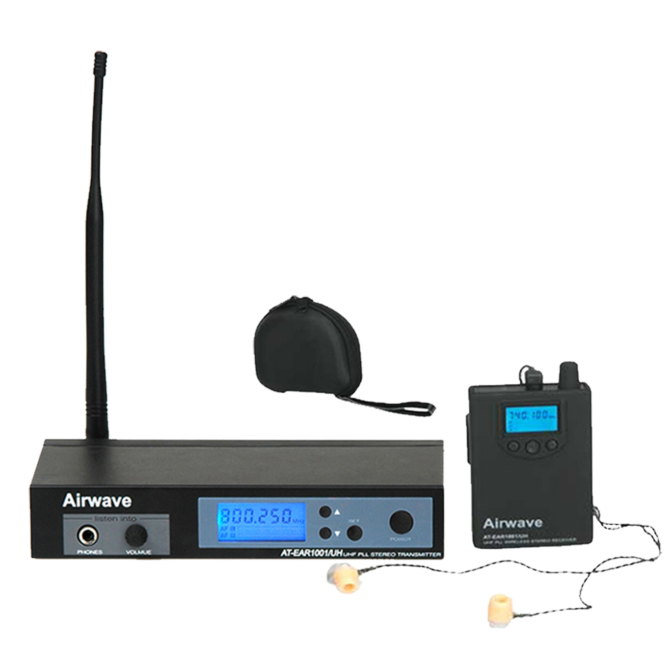 In Ear Monitor - Airwave Technologies - Wireless monitoring system