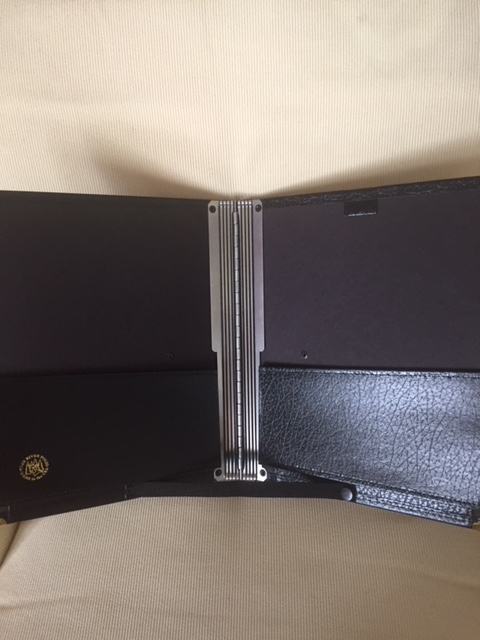 The Black Folder inside