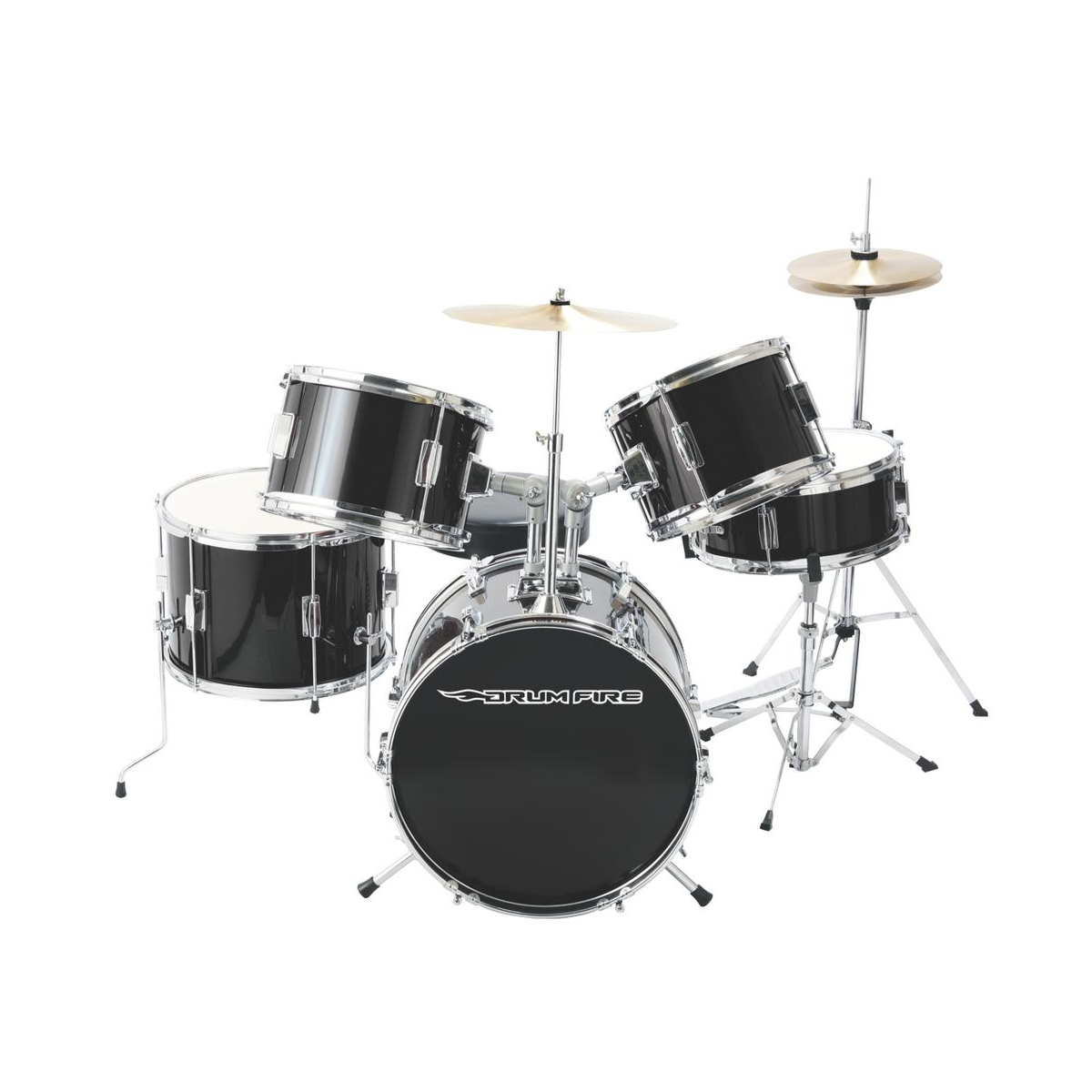 Jr. Drumset - Drumfire with Cymbals