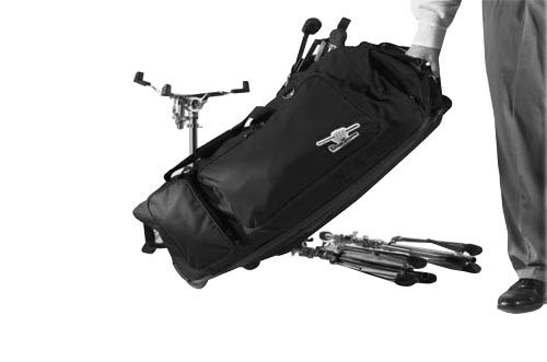 Drum Hardware case/bag with wheels