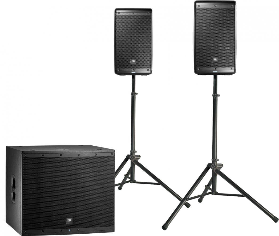 Jbl Eon618 18 Self Powered Subwoofer Pro Audio And Sound Kit Power Aktif Eon Speakers With Stands Woofer Sold Separately