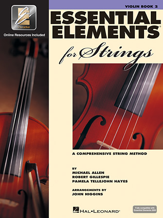 Essential Elements for Strings – Book 2 with EEi Violin