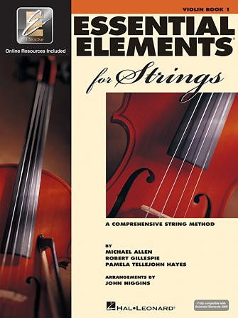 Essential Elements for Strings – Book 1 with EEi  -Violin