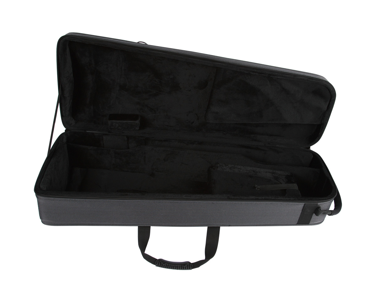 Trombone case - Gator Rigid Foam Lightweight Case with space for F attachment