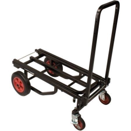 Jamstand wheeled cart - one end up
