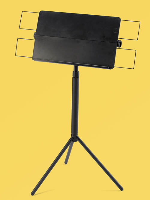 Music stand - The Original Petersen Collapsible Desk Orchestra Stand
