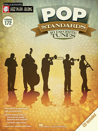 Pop Standards Jazz Play-Along Volume 172