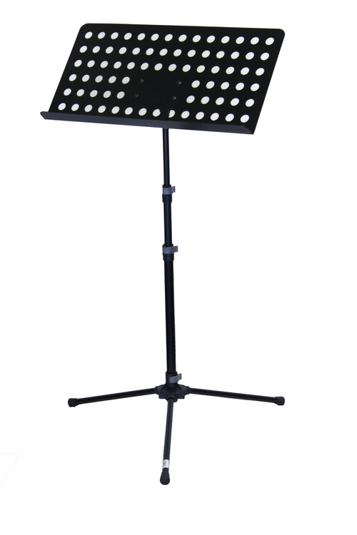 Music stand - Conductor Stand with holes - Steel tripod