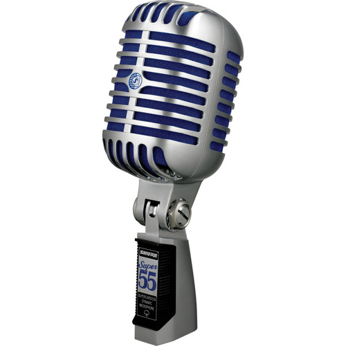 Microphone - Shure Super55 Deluxe Vocal and Speech Style Hi Performance Series Mic