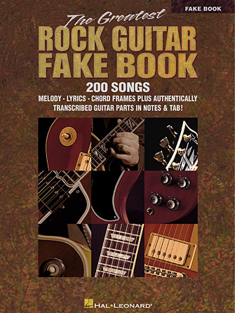 The Greatest Rock Guitar Fake Book