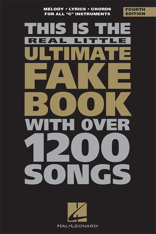 "The Real Little Ultimate Fake Book – 6""x9"" 4th Edition -C"