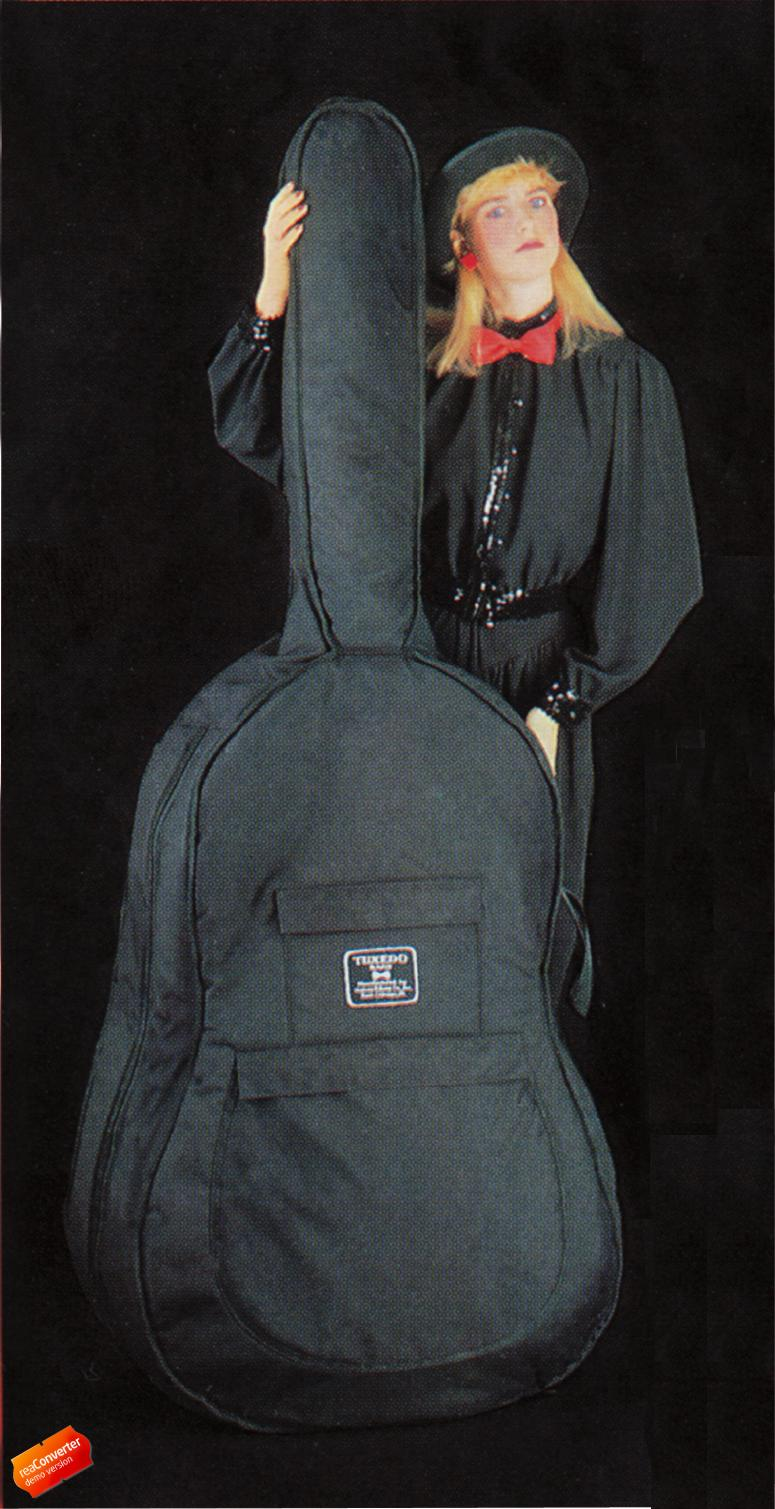 Bass Gig Bag - Humes and Berg Tuxedo