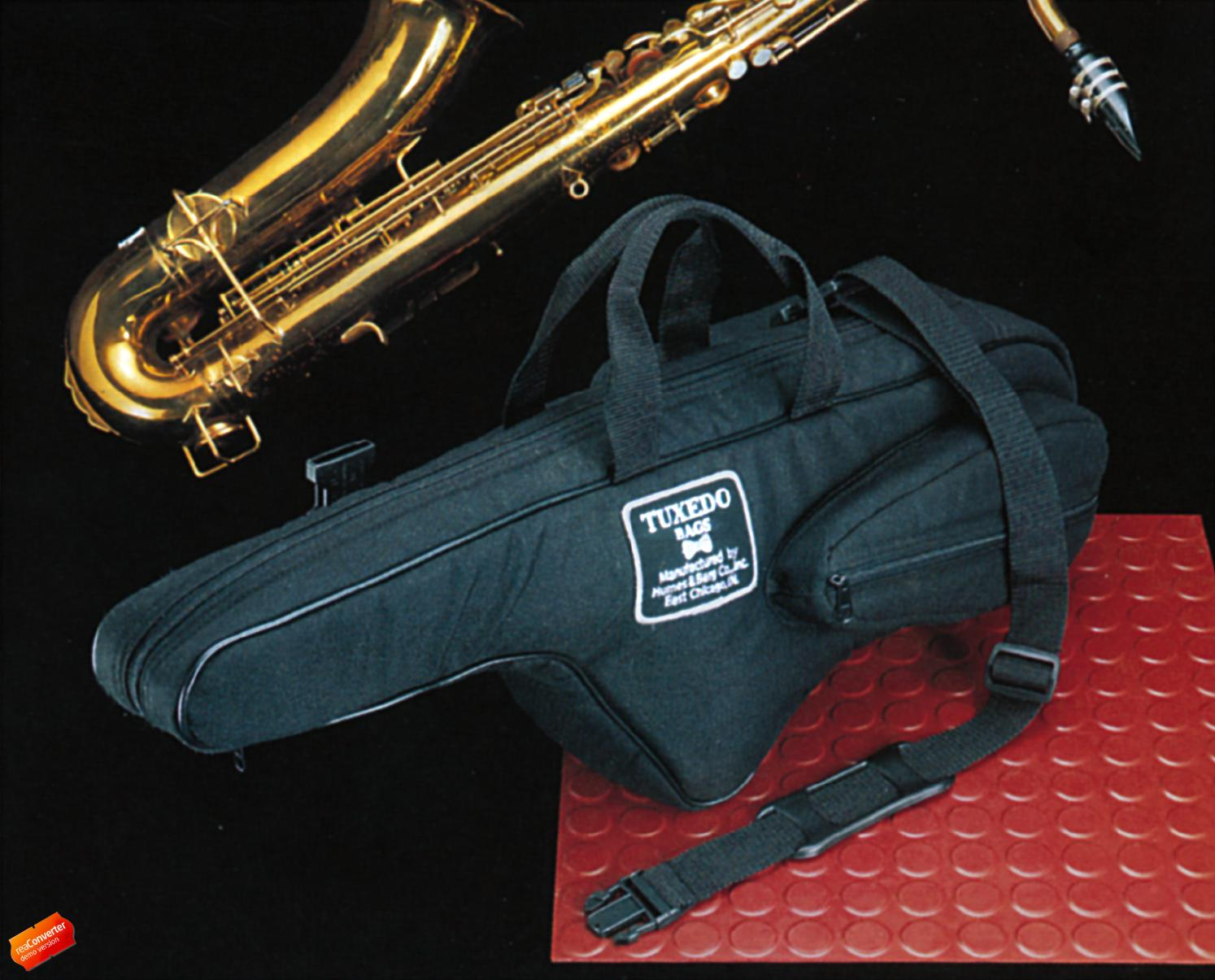 Soprano Saxophone Gig Bag - Humes and Berg Tuxedo