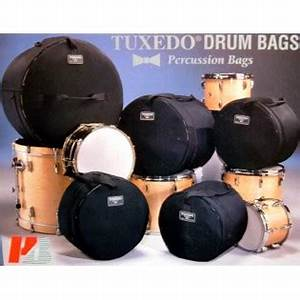 Drum Set Gig bags - Complete Set - Humes and Berg Tuxedo FREE SHIPPING