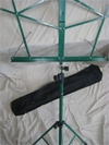 Music Stand - Green Folding Stand with Travel Bag