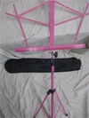 Music Stand - HOT PINK Folding Stand with Travel Bag