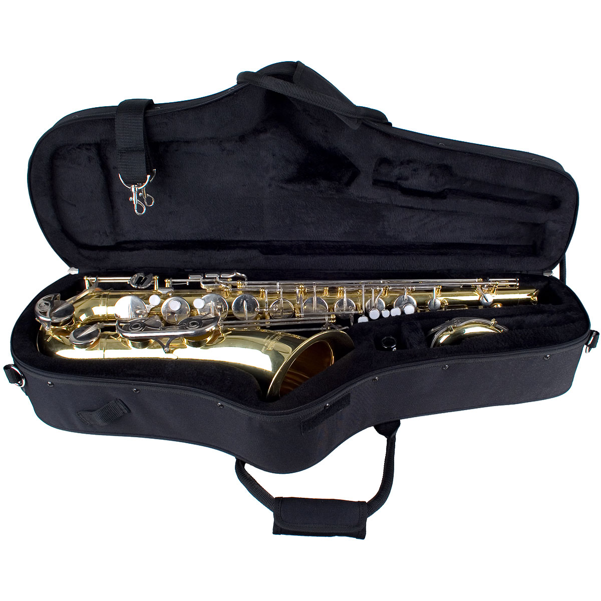 tenor saxophone case protec max contoured band. Black Bedroom Furniture Sets. Home Design Ideas